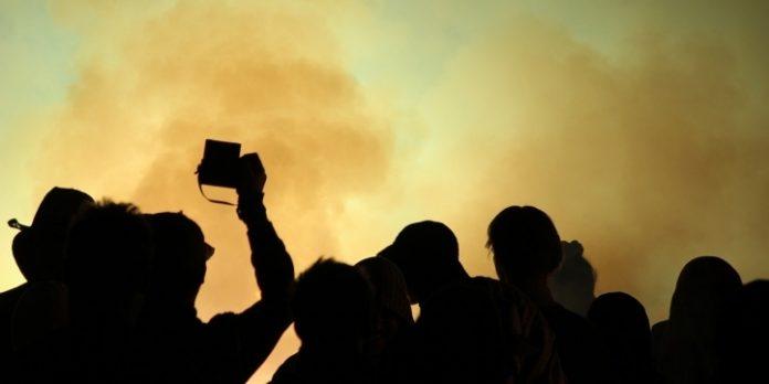 petrecere cu gheață carbonică