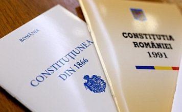 Constituţiile din România