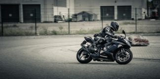 motociclist din Spania