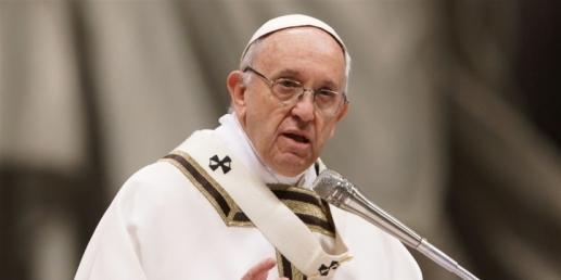slujba de Paște de la Vatican
