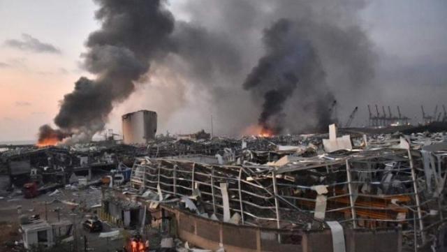 explozia din Beirut