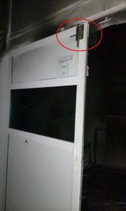 Zăvorul unei celule. Sursa foto: Reporter de Iași