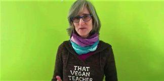 o profă care predica veganismul