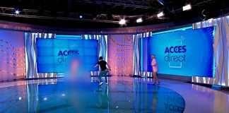 Cum putea o femeie goală pușcă să ajungă în platoul unei televiziuni?