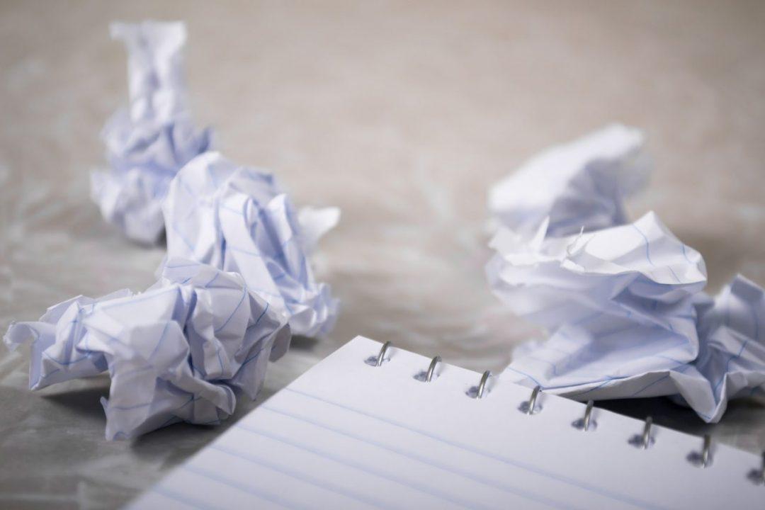 blocajul scriitorului
