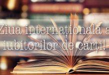 Ziua internațională a iubitorilor de cărți