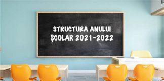 calendarul anului școlar